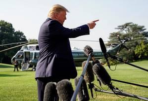Trump: postura rígida com China. Foto: Kevin Lamarque / REUTERS