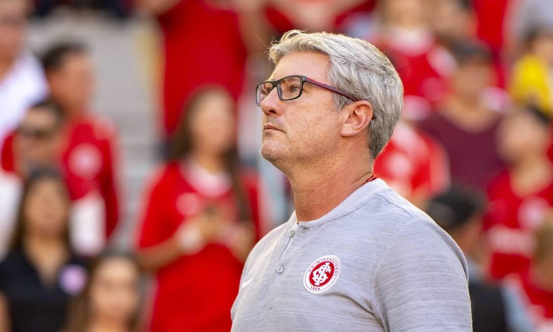 O técnico Odair Hellmann foi demitido do Internacional Foto: Pérsio Ciulla   TXT Sports
