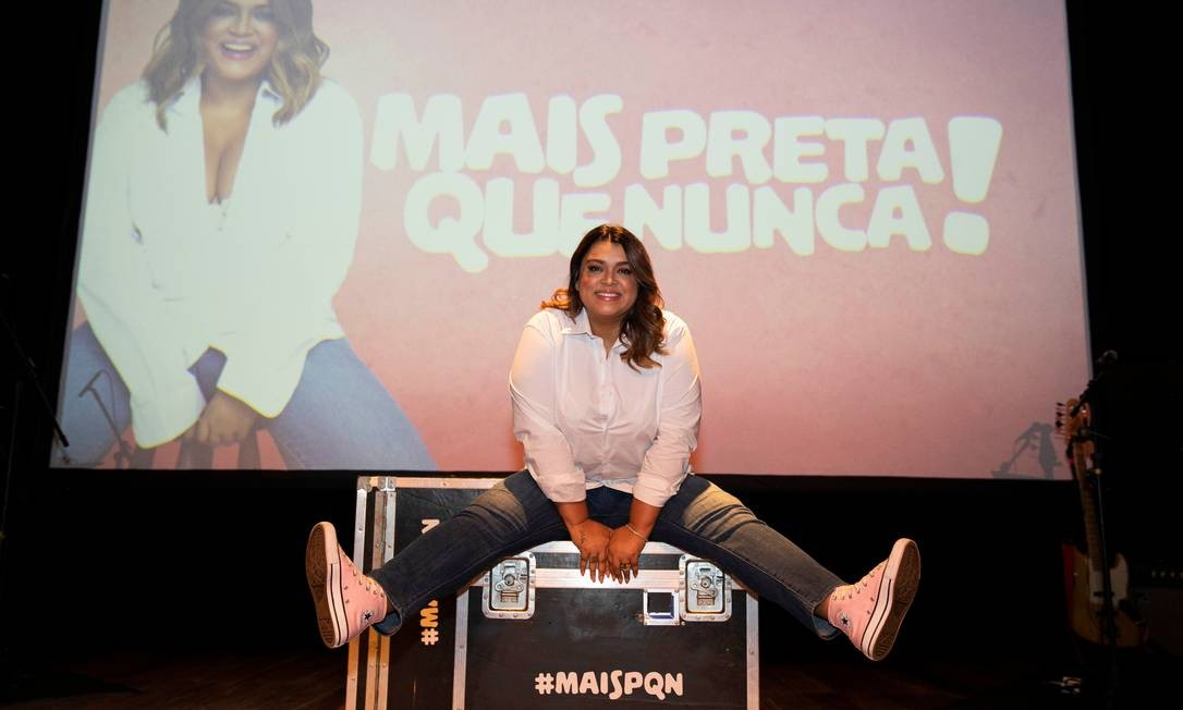 Preta Gil em 'Mais Preta que nunca' Foto: Divulgação/Felipe Panfili