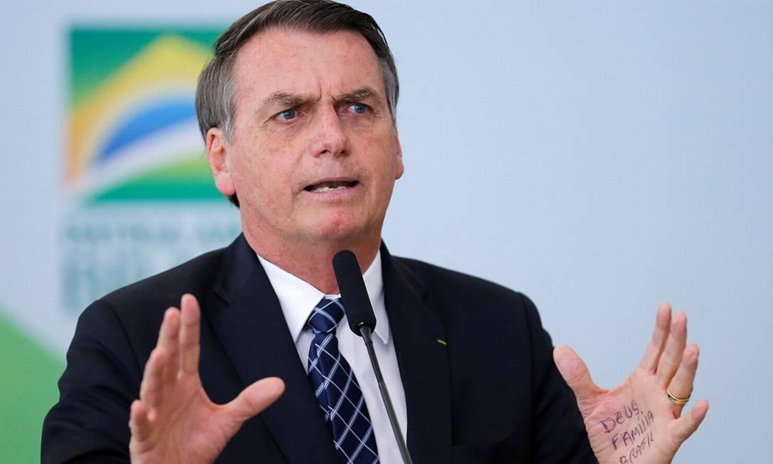 O presidente Jair Bolsonaro: menos impostos para videogames. Foto: ADRIANO MACHADO / REUTERS