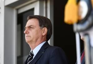 Bolsonaro afirmou que o ministro precisa ter 'paciência' Foto: EVARISTO SA / AFP