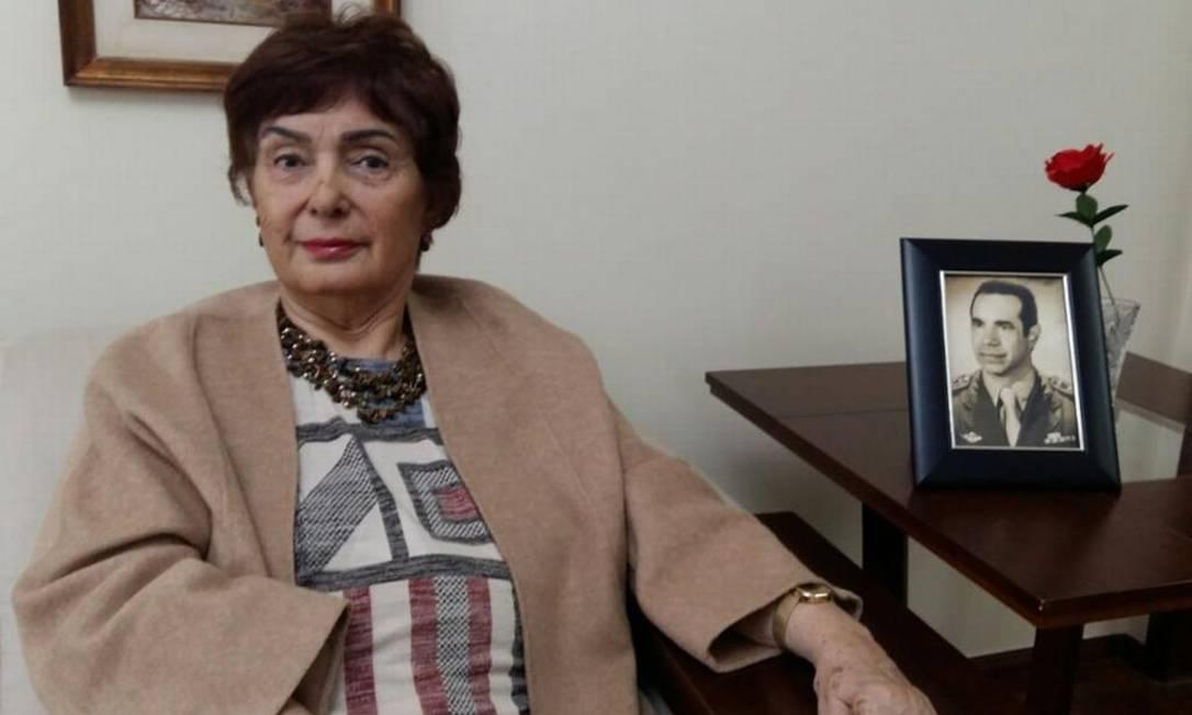 Maria Joseíta Silva Brilhante Ustra, viúva do coronel Carlos Alberto Brilhante Ustra Foto: Acervo pessoal