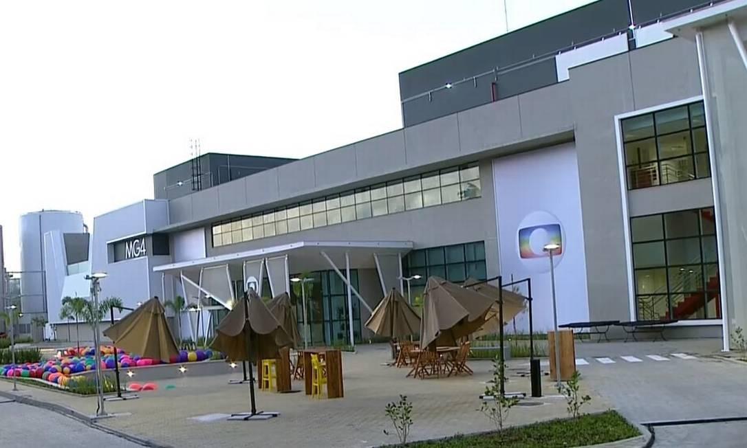Estúdios MG4 possuem tecnologia 100% sustentável Foto: Reprodução/TV Globo