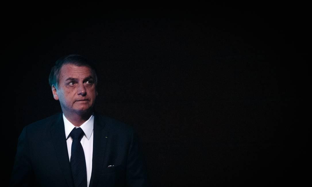 O presidente Jair Bolsonaro Foto: Daniel Marenco / Agência O Globo