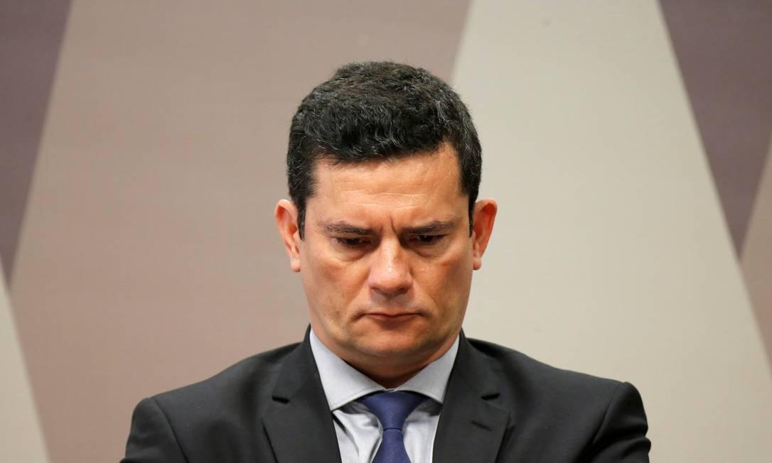 Em pedido de investigação, Moro diz que o presidente da OAB cometeu crime de calúnia Foto: Adriano Machado / Reuters/19-06-2019