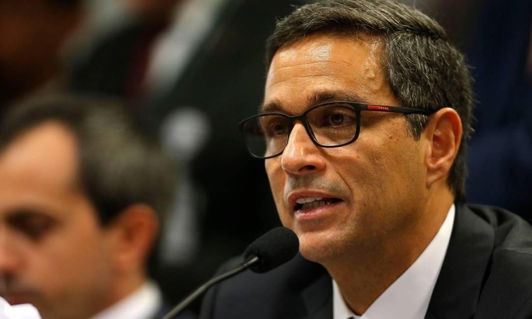 O presidente do Banco Central, Roberto Campos Neto Foto: Jorge William / Agência O Globo