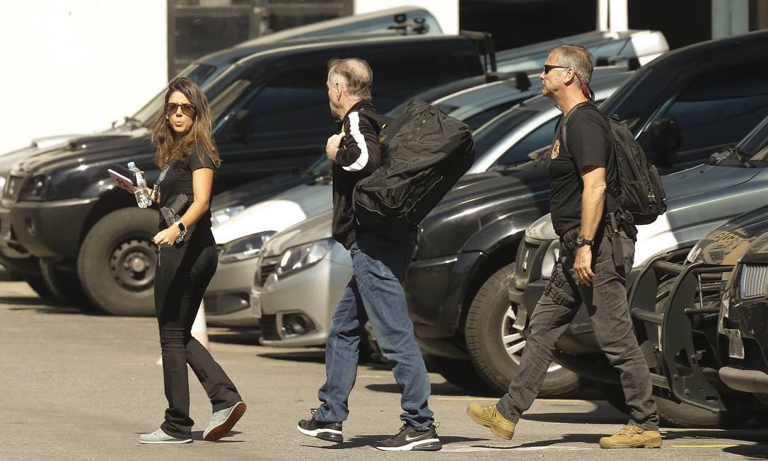 Eike Batista foi preso por agentes da Polícia Federal, na manhã desta quinta-feira (08/08/2019), em mais uma fase da Operação Lava-Jato Foto: Pablo Jacob / Agência O Globo