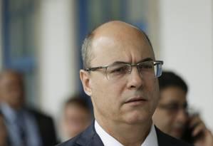 O governador Wilson Witzel em 05/08/2019 Foto: Gabriel de Paiva / Agência O Globo