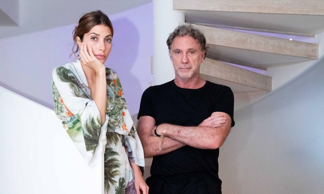 Caetana e Oskar Foto: Miguel Sá