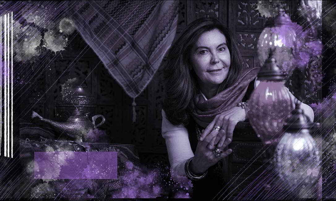 Rosane Lopes, designer e ex-funcionária da ONU, ela passou dois anos em um campo de refugiados no Iraque. Agora, capacita mulheres yazidis para criarem acessórios e terem renda própria Foto: Léo Martins