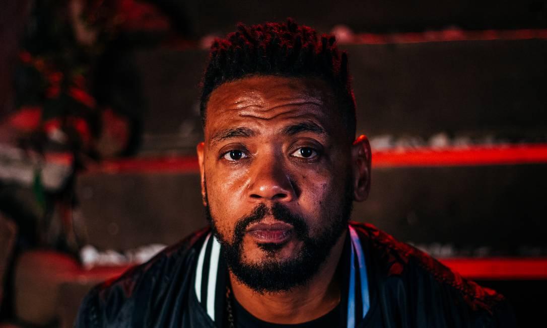 O rapper Edi Rock, dos Racionais MC's Foto: Divulgação/Yago Gonçalves