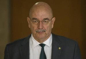 Osmar Terra, Ministro da Cidadania Foto: Daniel Marenco/Agência O Globo
