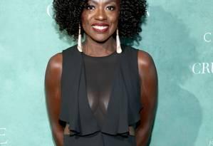 A atriz e produtora Viola Davis Foto: Phillip Faraone / Getty Images