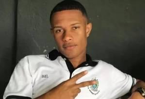 Gabriel sonhava ser jogador de futebol Foto: Reprodução
