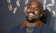 O rapper americano Kanye West é casado com Kim Kardashian e eles têm quatro filhos Foto: Agência O Globo