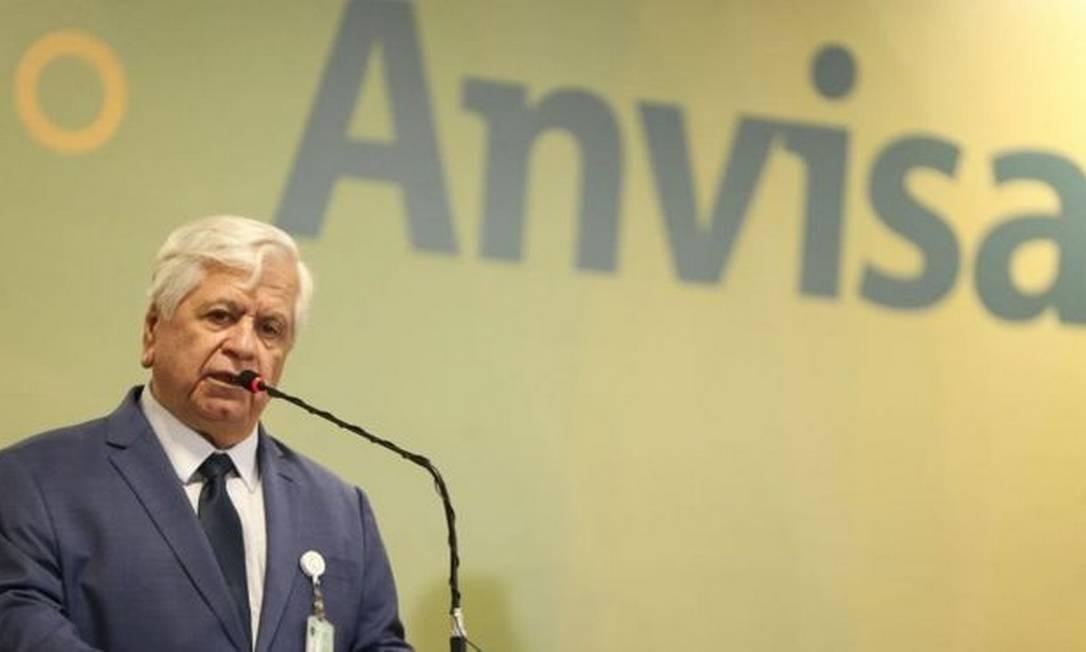 O diretor-presidente da Anvisa, William Dib Foto: Agência Brasil