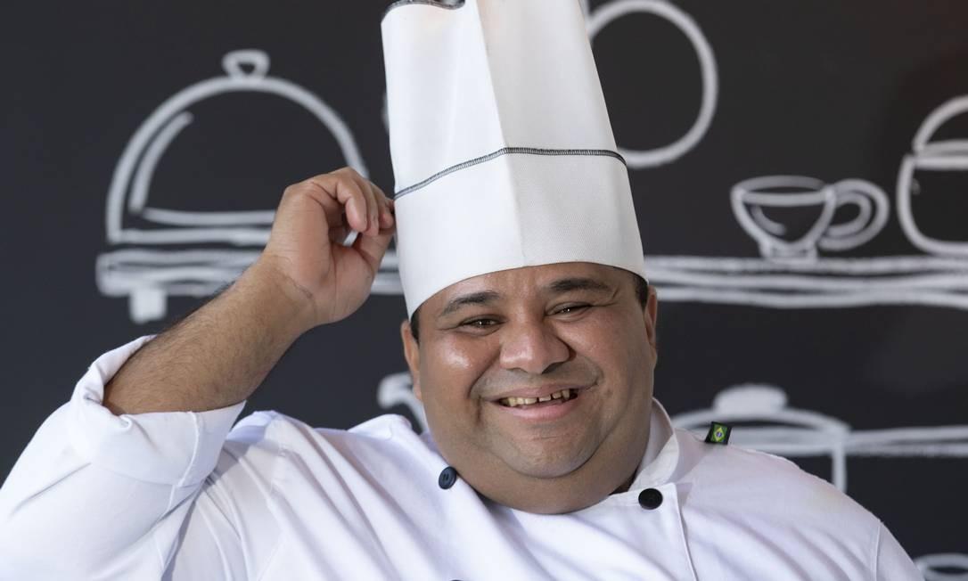 Willame Serra: chef assumiu a cozinha do recém-inaugurado Pecorino Bar & Trattoria Foto: Ana Branco / Agência O Globo