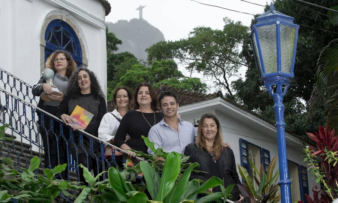Artistas que vão participar do Circuito das Artes do Jardim Botânico, que chega à 23ª edição Foto: Bruno Kaiuca / Agência O Globo