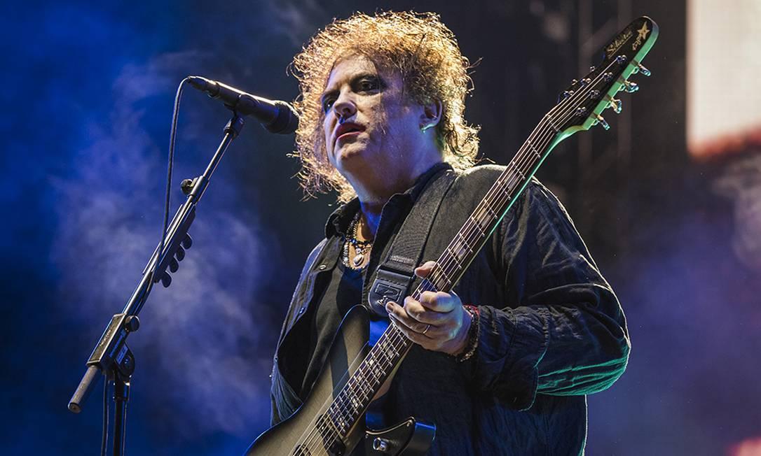Robert Smith lidera o Cure em show no Way Out West Festival Foto: Hilda Arneback / Divulgação