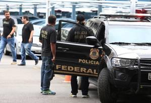 Polícia Federal Foto: Fabiano Rocha / Agência O Globo