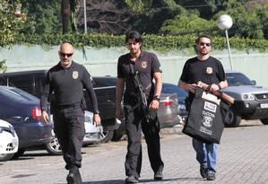 Sede da PF em São Paulo. Operação prendeu mais de 30 e teve como alvo contas bancárias de facção Foto: Photo Press / Agência O Globo
