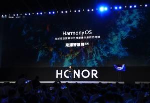 George Zhao, presidente da Honor, diz que a televisão será um centro de compartilhamento de informação, de gerenciamento e de interação multidispositivo Foto: Divulgação