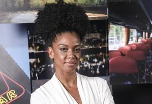 A atriz angola Heloisa Jorge, que interpreta Gilda em 'A dona do pedaço' Foto: Divulgação / Agência O Globo