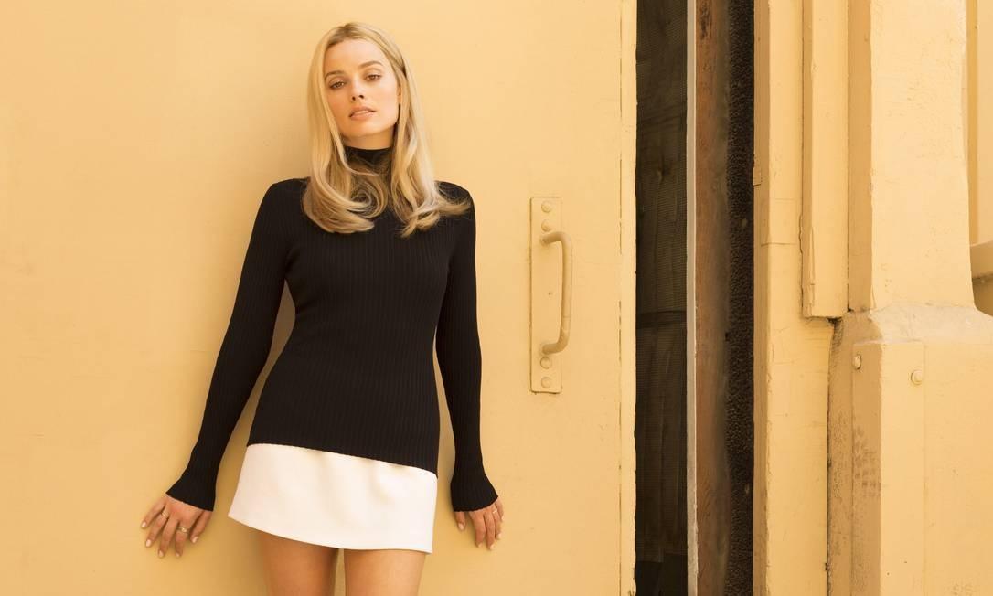 """Margot Robbie em """"Era uma vez em Hollywood"""" Foto: Divulgação / Agência O Globo"""