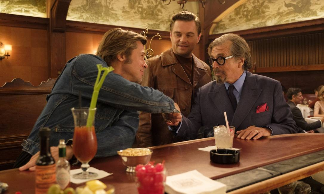 Cena de 'Era uma vez em Hollywood', de Quentin Tarantino Foto: Divulgação / Agência O GLOBO