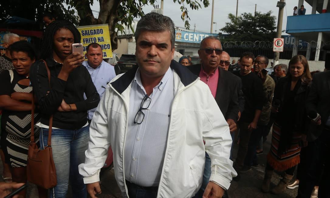 Washington Reis, prefeito de Duque de Caxias, nomeou 13 parentes em cargos comissionados Foto: Fabiano Rocha / Agência O Globo