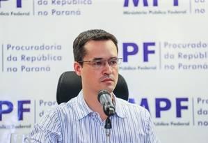 Deltan Dallagnol, coordenador da força-tarefa da Lava-Jato em Curitiba 19/12/2018 Foto: Foto: Geraldo Bubniak / Agência O Globo