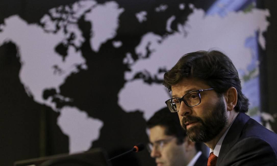 O secretário de comércio exterior do Ministério da Economia, Lucas Ferraz Foto: Fabio Rodrigues Pozzebom/Agência Brasil