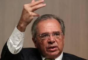 O ministro da Economia, Paulo Guedes Foto: Reuters