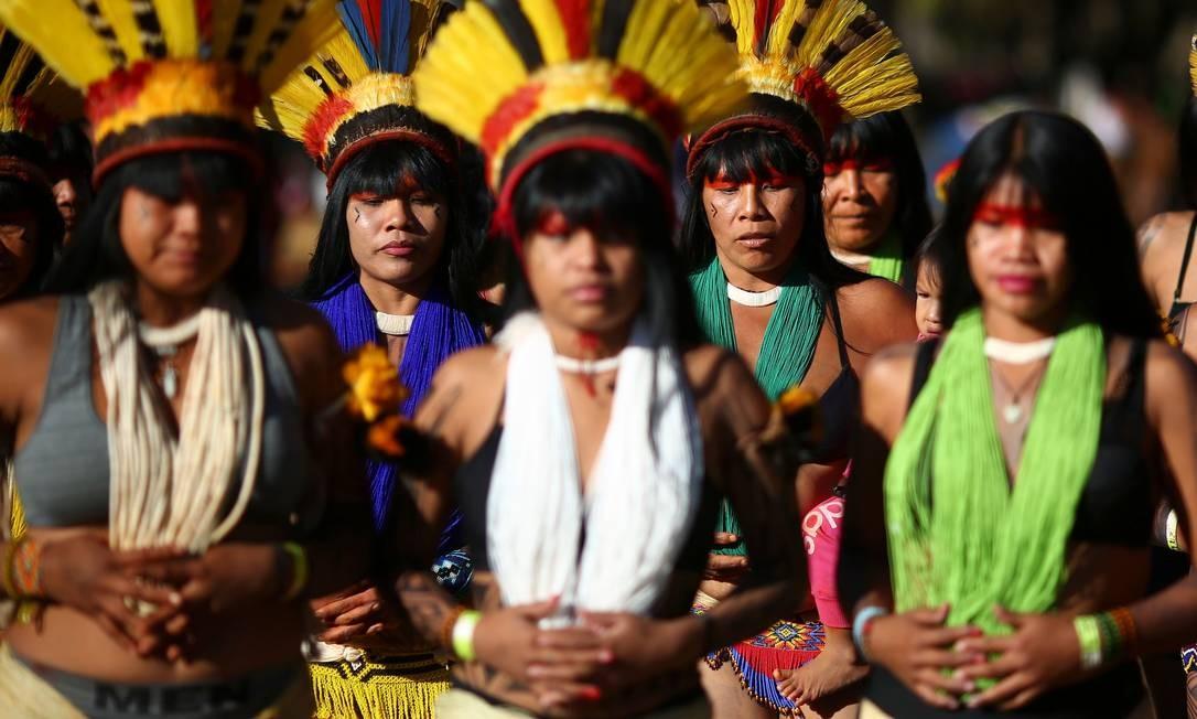 Em março deste ano, o ministro da Saúde, Luiz Henrique Mandetta, anunciou mudanças na pasta, entre as quais a extinção da Sesai, além da municipalização dos serviços de saúde para os povos indígenas Foto: SERGIO LIMA / AFP
