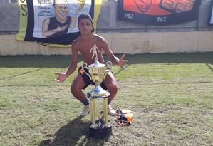 Dyogo Coutinho, de 16 anos, morreu durante uma operação na Grota, em Niterói Foto: Arquivo pessoal