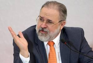 Augusto Aras, foi indicado na quinta-feira pelo presidente Foto: Roberto Jayme/Ascom/TSE
