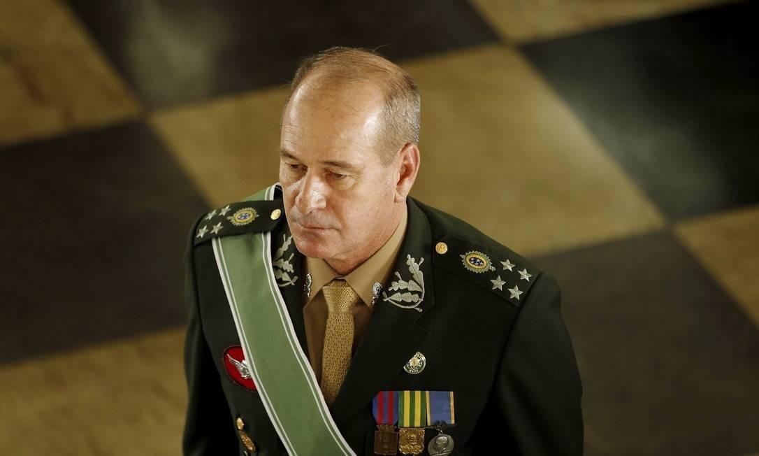 O ministro da Defesa, Fernando Azevedo Foto: Gabriel de Paiva / Agência O Globo