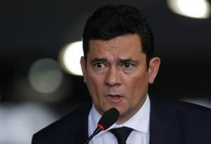 A PGR determinou o arquivamento de um pedido de investigação sobre a atuação de Moro Foto: Jorge William / Agência O Globo