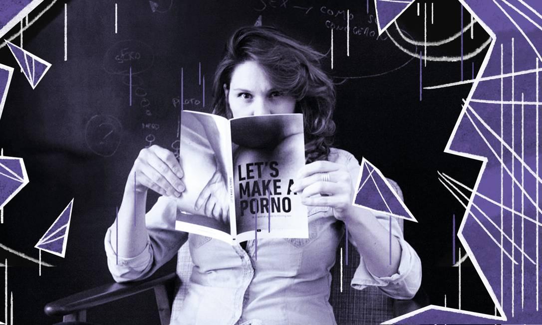 Erika Lust, diretora de filmes pornô para mulheres Foto: Divulgação