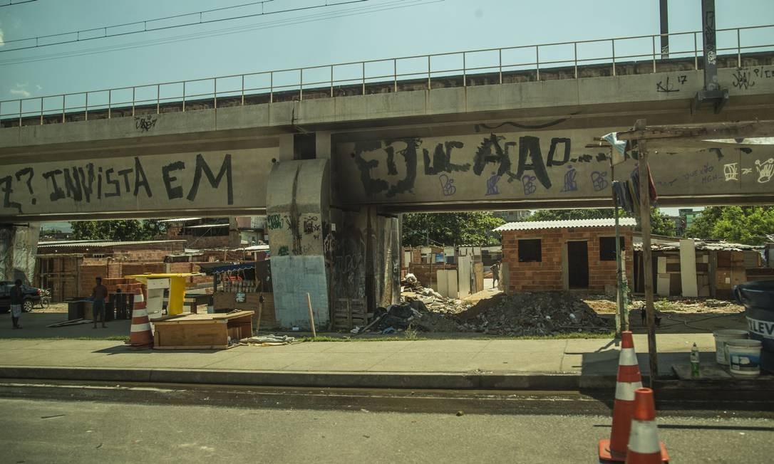 A Favela do Jacarezinho Foto: Guilherme Pinto / Agência O Globo / 12-12-2018