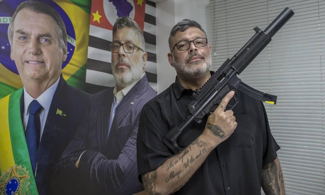 Frota foi umas das figuras mais atuantes na campanha de Bolsonaro para presidente Foto: Edilson Dantas / Agência O Globo