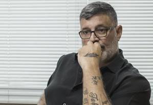 O deputado Alexandre Frota (SP), expulso do PSL Foto: Agência O Globo