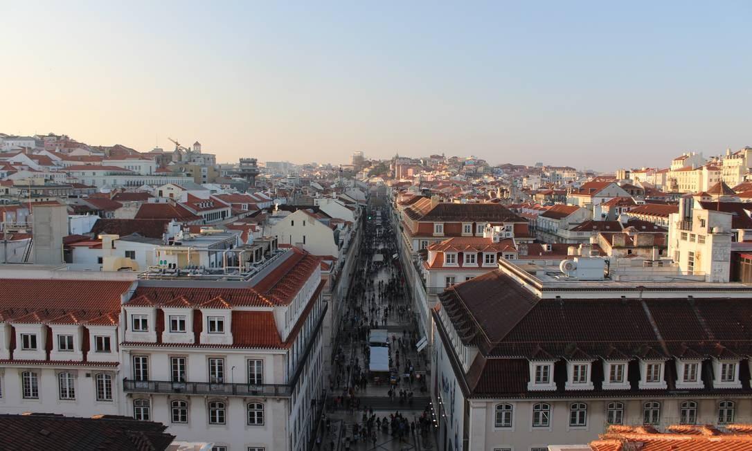 Região central da capital portuguesa Foto: Fernanda Dutra / O Globo