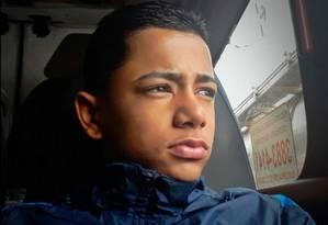 Dyogo tinha 16 anos e sonhava ser jogador de futebol Foto: Reprodução