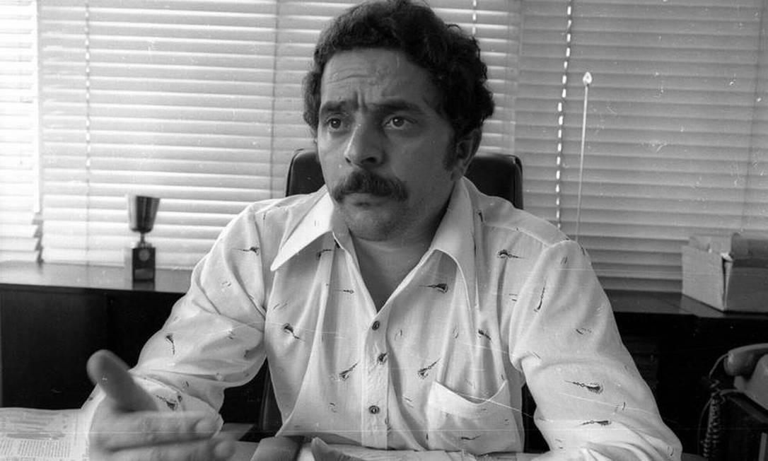 1975 / LÍDER SINDICAL - Depois de seis anos no sindicato dos metalúrgicos, Lula ascende ao posto de presidente. Três anos depois é reeleito Foto: Antônio Carlos Piccino / Agência O Globo