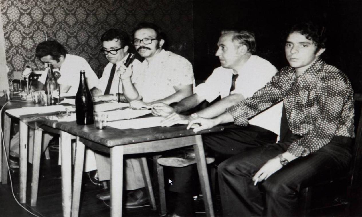 1969 / INÍCIO NO SINDICATO - Lula ingressa como suplente no Sindicato de Metalúrgicos de São Bernardo do Campo e Diadema. É o primeiro cargo que ele ocupa em sua trajetória sindical Foto: Gustavo Miranda / Reprodução