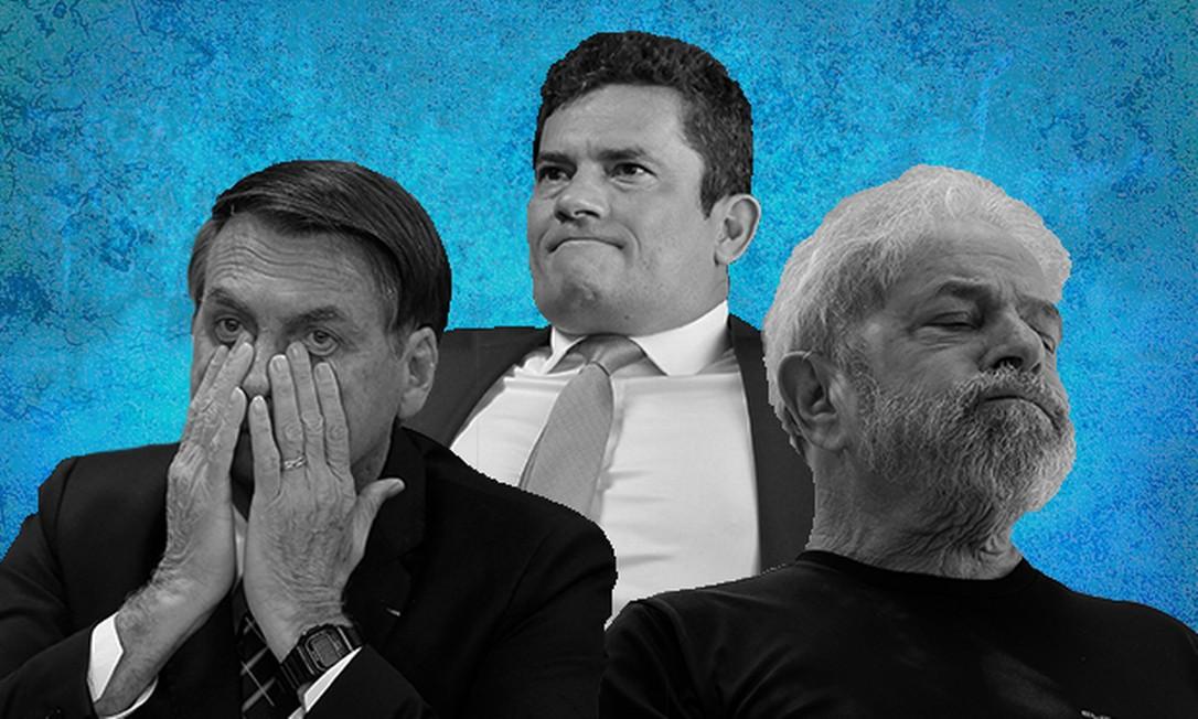 Fotomontagem Foto: Com fotografias de Agência O Globo e Valor Econômico