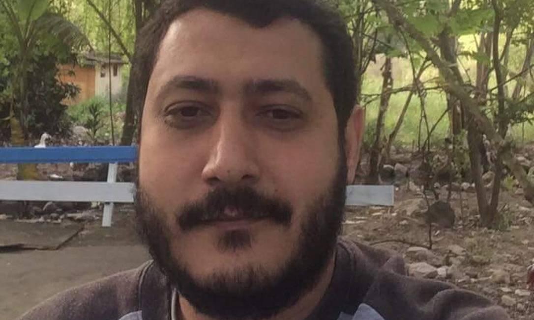 Foto enviada pela defesa do egípcio Mohamed Ahmed Elsayed Ahmed Ibrahim Foto: Arquivo pessoal / Arquivo pessoal