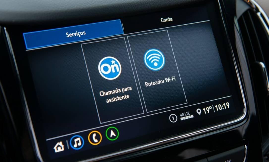 """Na multimídia, aperte o ícone """"Roteador Wi-Fi"""", digite a senha e pronto Foto: Divulgação"""
