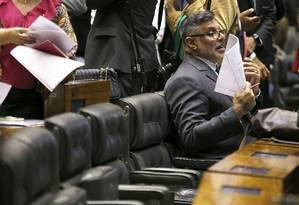 Alexandre Frota, deputado federal do PSL, foi expulso da sigla na última terça-feira Foto: Jorge William / Agência O Globo 20/02/2019